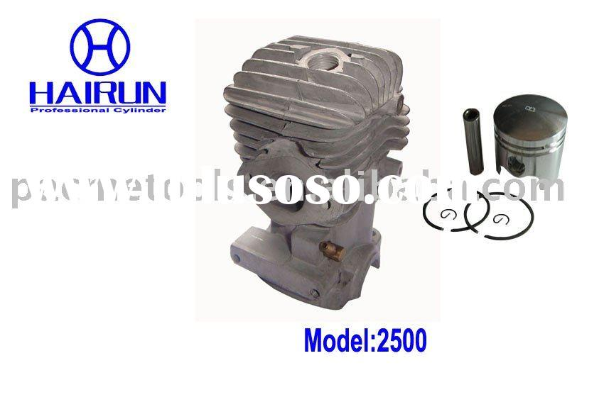 chain saw parts for cylinder and piston 2500