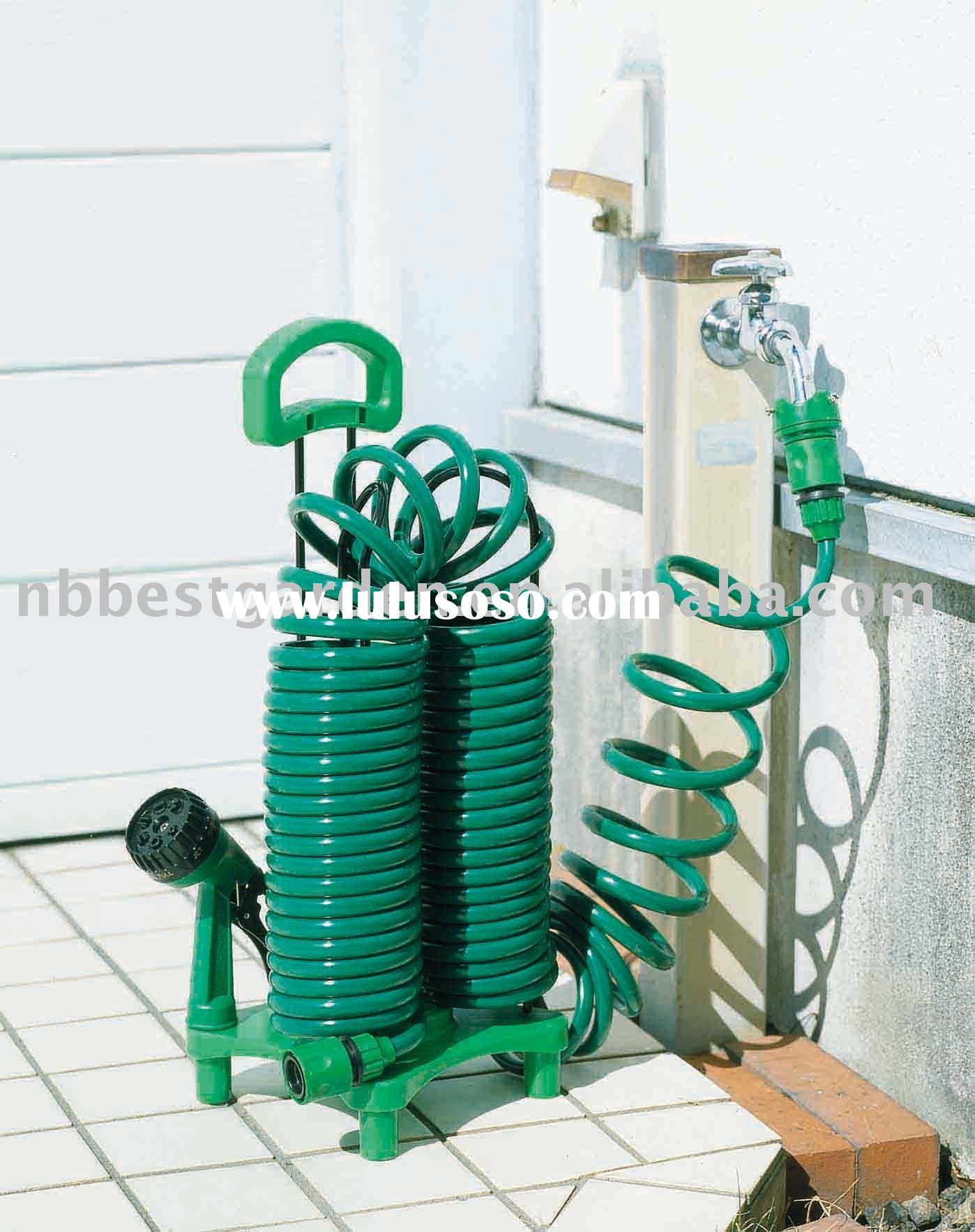 Garden Coil Hose Hanger For 7.5M coil hose,hose nozzle and water wand