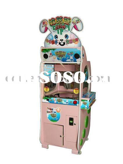 coin operated different design cotton candy vending game machine for children