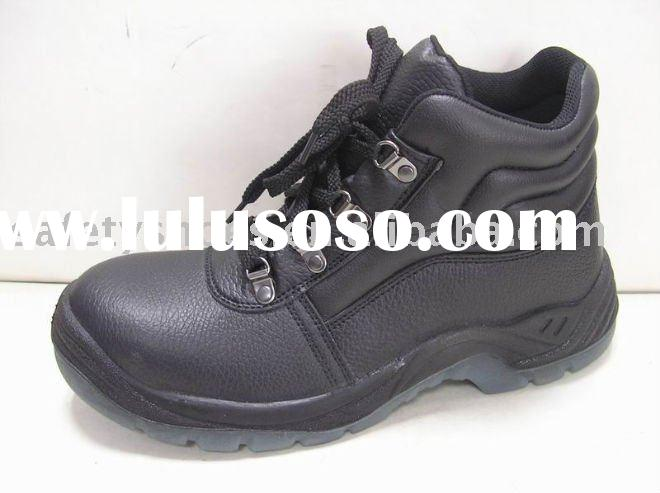 double density PU/TPU injection sole safety shoe