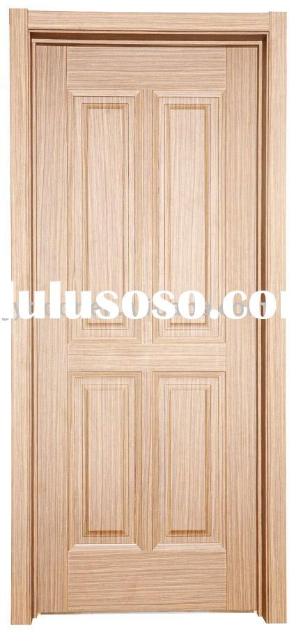 Interior wooden melamine door with glass inserts for sale for Eco friendly doors