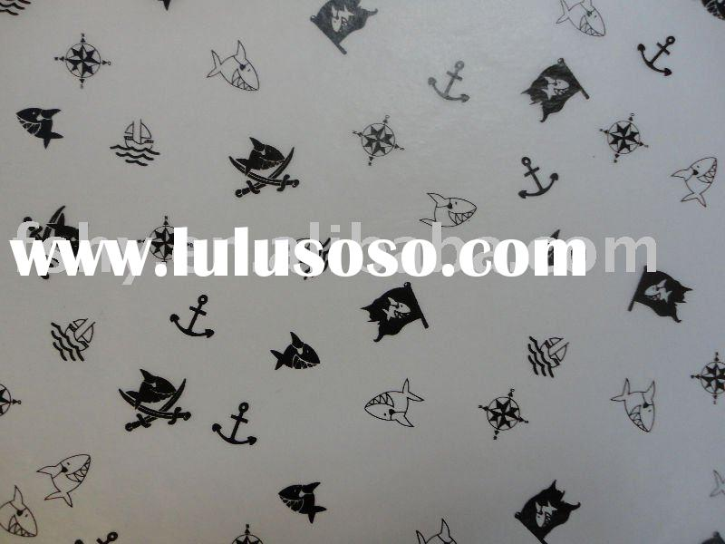 fish printed gift wrapping tissue paper
