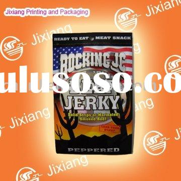 flexible printing and lamination packaging beef jerky packaging bag