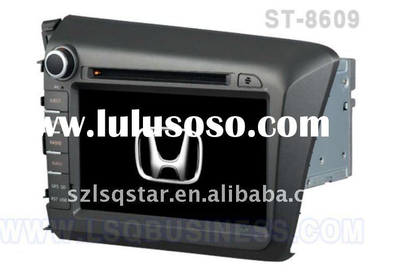 for 8'' inch Honda car dvd player with GPS MPEG2 MPEG4 ISDB,TMC and canbus and so on