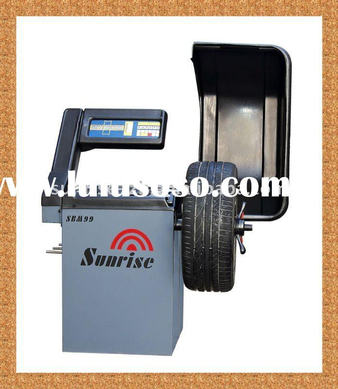 full automatic car wheel tire balancer with CE supplier