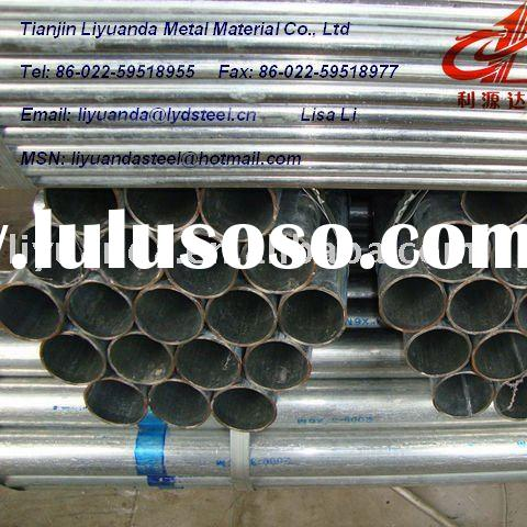 galvanized welded round steel pipe