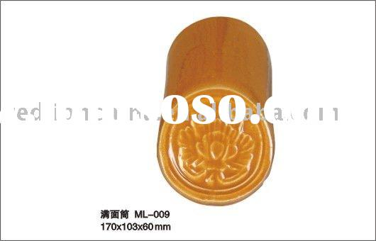 golden yellow colour Chinese Style Roofing Tiles