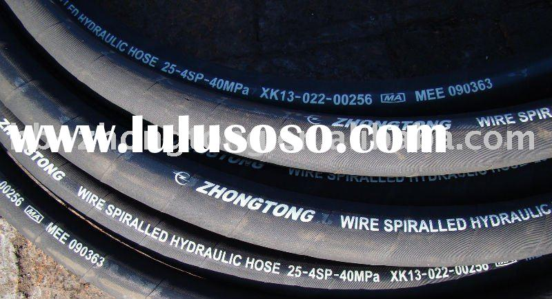 high pressure braided rubber hose pipe