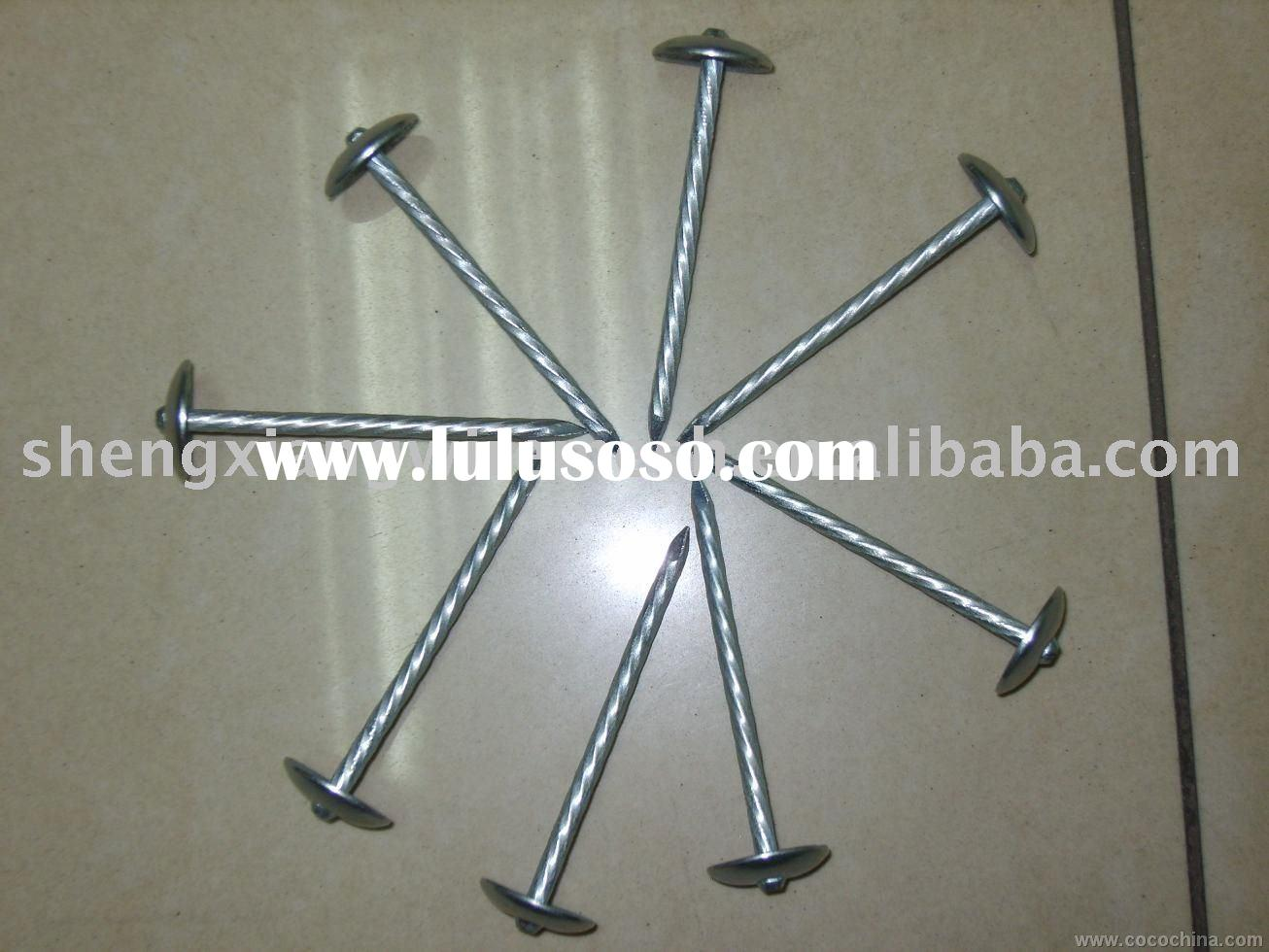 hot dipped galvanized roofing nail ISO9001Certificate