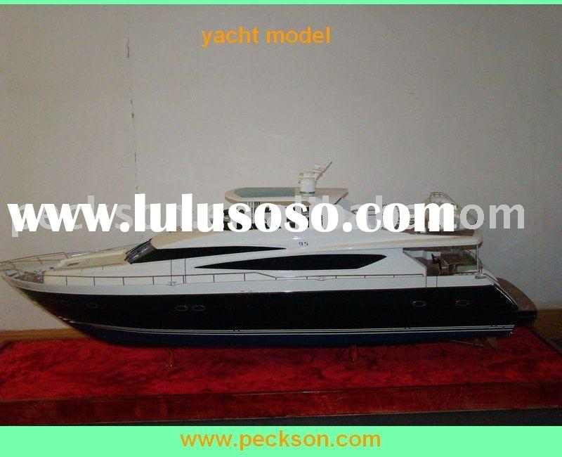 hot sell Fiberglass Yacht and boat Model