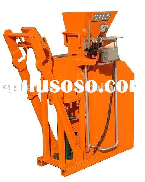 hydraulic interlocking brick making machine SY1-25