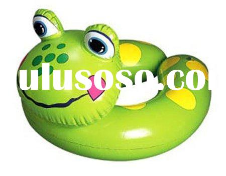 inflatable baby swimming ring/frog ring/inflatable swim set