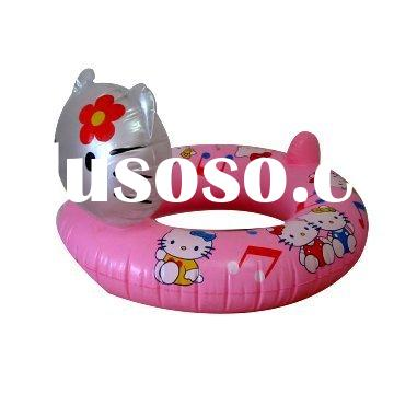 inflatable swimming ring, inflatable kid's ring, PVC swimming ring, swim ring a head