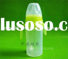 injection mold Silicone Feeding Bottle For Baby
