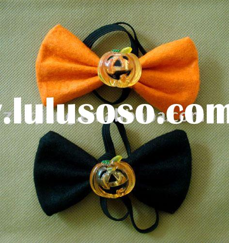 led flash light up Halloween's Day fashion bow tie gift