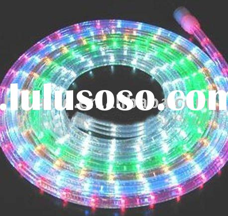 led rope light color changing