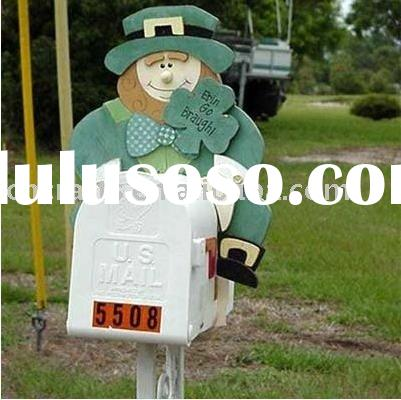 mailbox,post box,letterbox,cast mail box ,postbox,iron mail box,iron decoration,out door decoration
