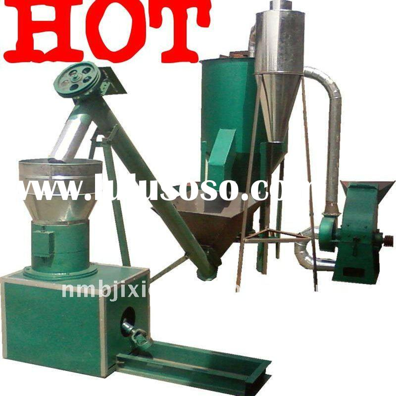 making poultry feed mixture pellet granulation from wheat bran ,cotton cake for fish cage