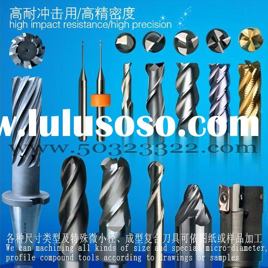 milling cutter, end mill, CNC cutting tools