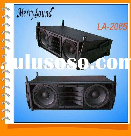 mini line array systems, professional speakers, PA systems (LA2065)