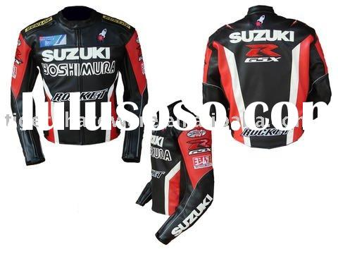 motor waterproof jacket suzuki jacket suzuki racing jacket WATERPROOF PU JACKET