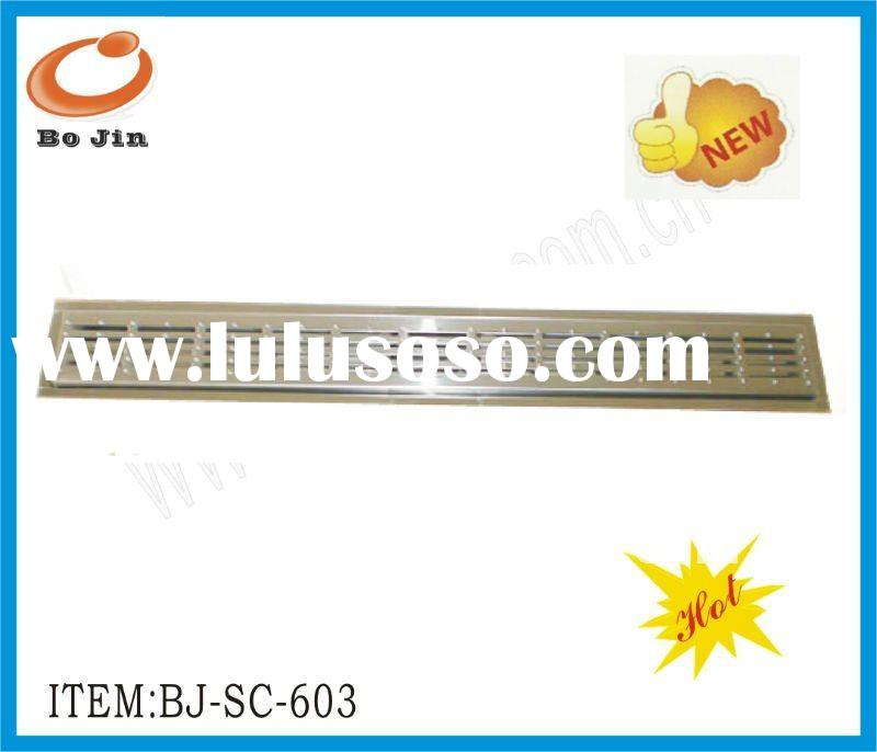 new design OEM stainless steel 304 shower channel drain