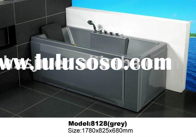 nice new luxury grey abs Massage Bathtub