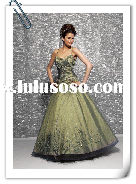 our factory design taffeta queen beauty prom gown PR1850