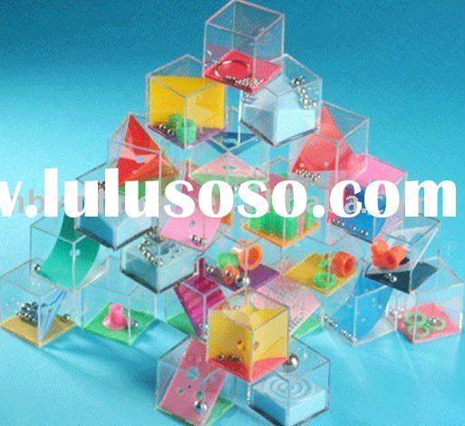 plastic box Puzzle game for kids