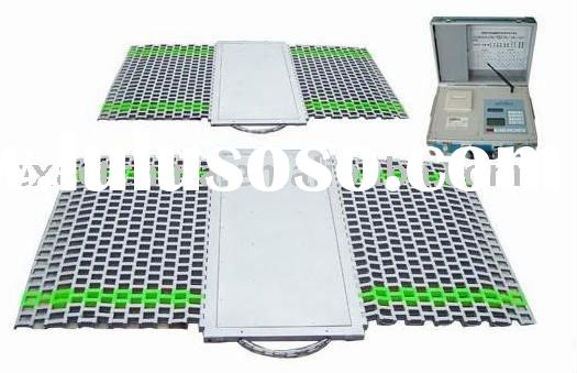 portable Axle weighing system