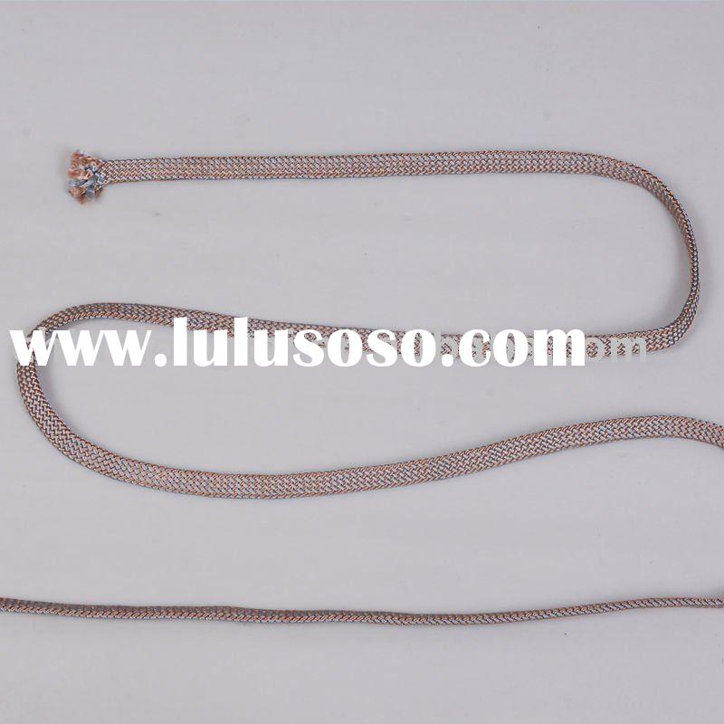 pp polyester cotton nylon braided rope