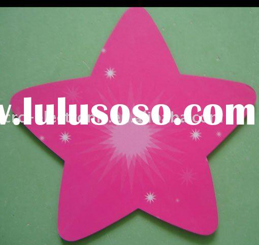 promotion mouse pad, star shape mouse pad, cloth mousead, rubber mousepad, photo frame mouse pad, fr