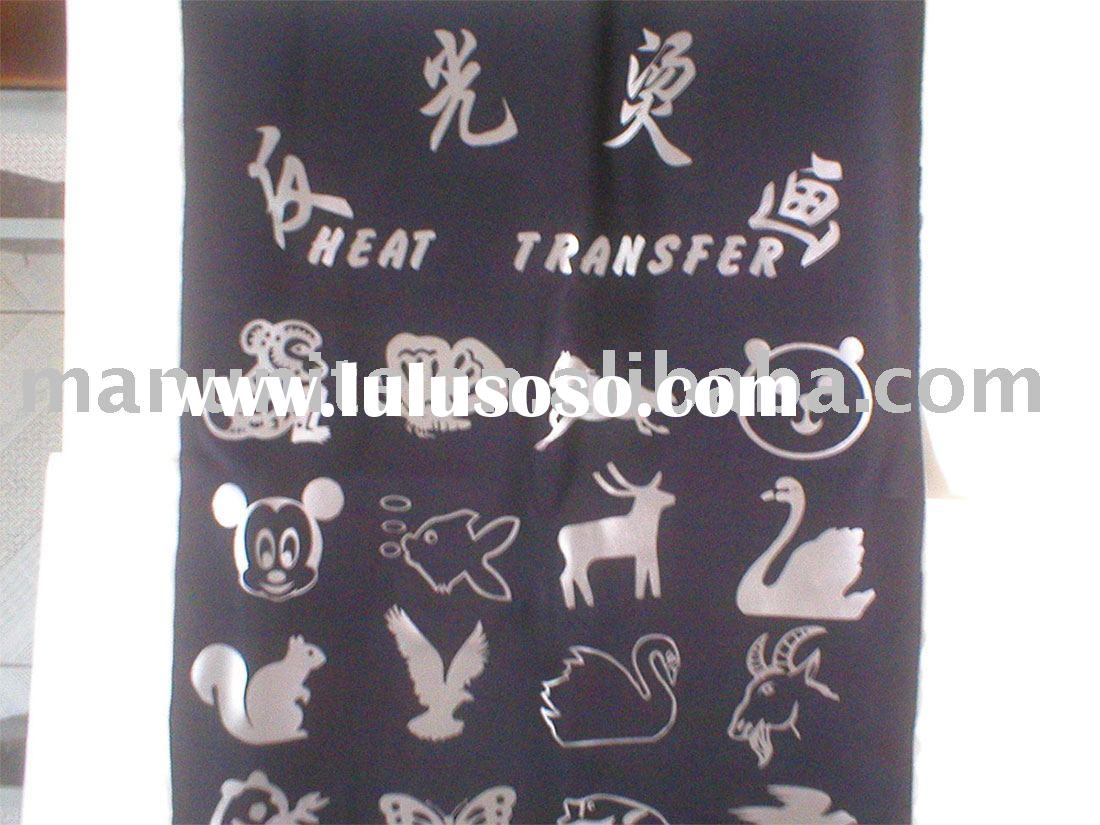 reflective heat transfer paper(reflective heat transfer,reflective logo)