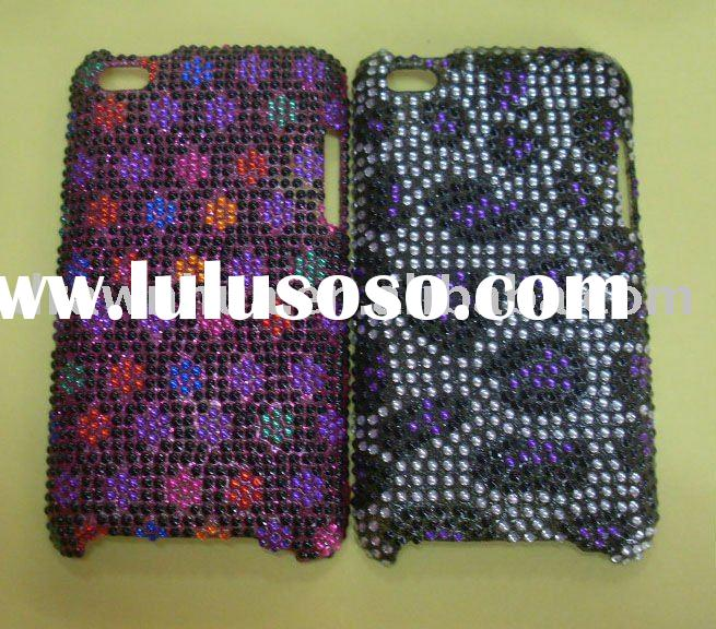 rhinestone case for ipod touch 4g(accept paypal)