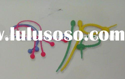 silicone cable tie / rope tools Convenient, practical