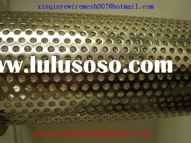 ss perforated sheet metal (round staggered)