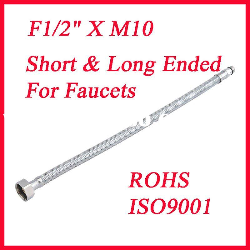 stainless steel knitted flexible faucet hose, toilet hoses, bath hose