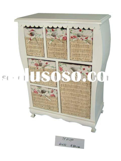 wicker / rattan furniture,wooden cabinet with drawers