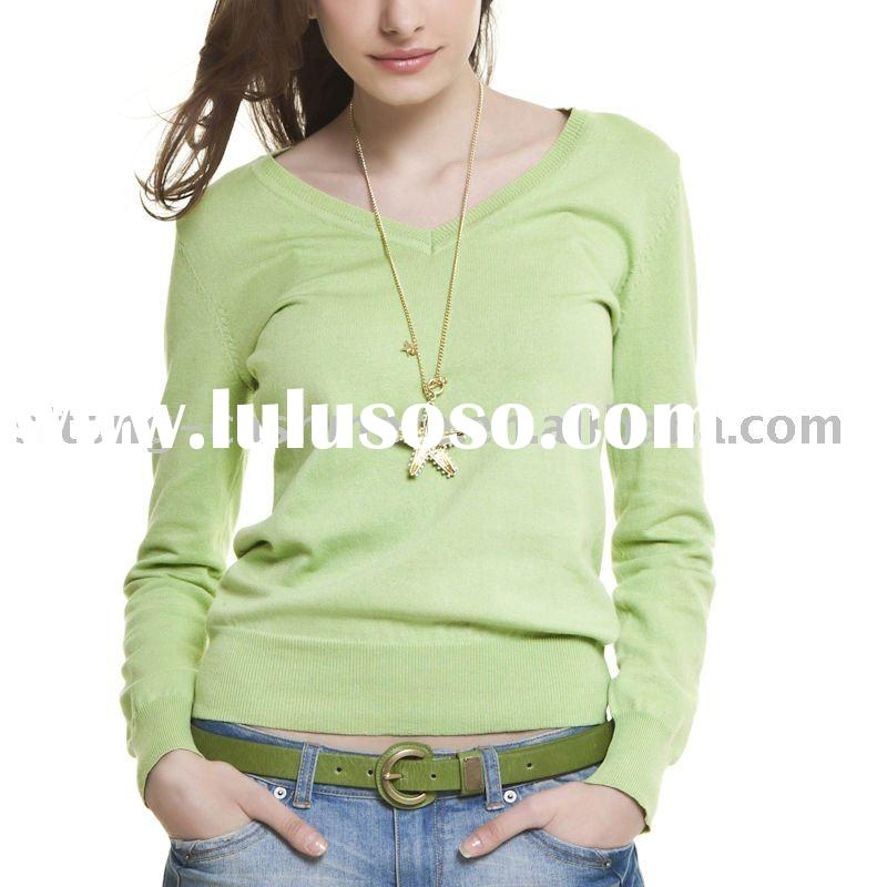 100% cashmere woman fashion pullover sweater,2011 fashion sweater