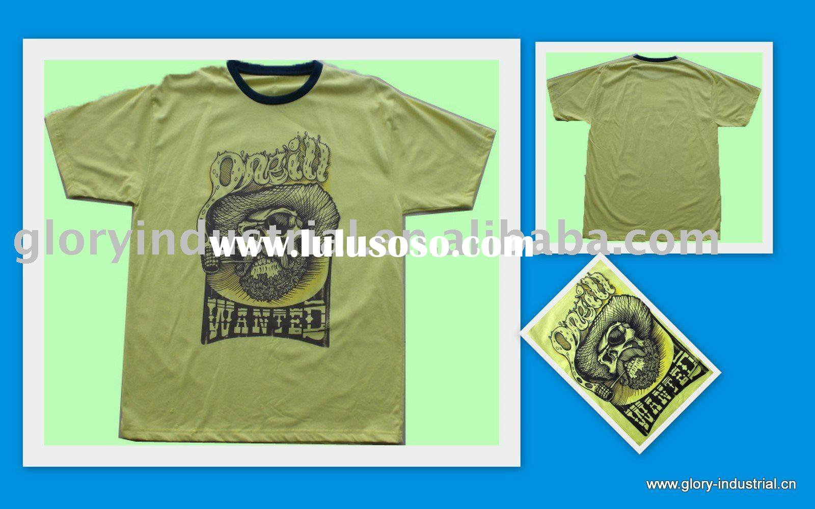 T shirts screen printing for sale price china for Screen printing shirt prices