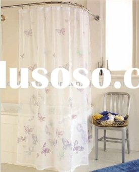 100%polyester printed Shower Curtain(Bathroom Product)