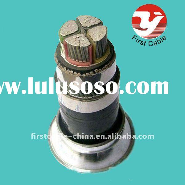 110 kv Aluminum Conductor XlPE Insulated Steel Wire Armoured SWA Power Cable