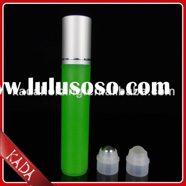 12ml plastic roll-on bottle,perfume bottle with metal cap and roller ball