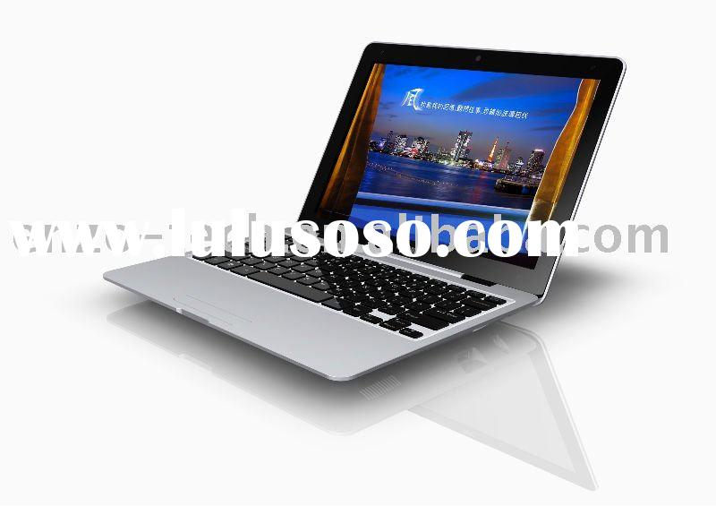13.3 inch Intel Atom N455 processor ultra slim OEM laptop computer