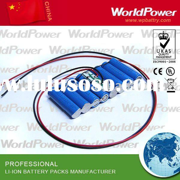 14.8v 3600mah rechargeable lithiumion battery pack used for medical