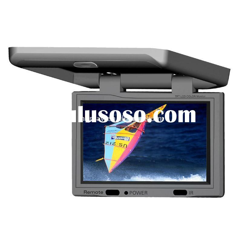 15.1 inch car flip down /roof mount Dvd &monitor with IR transmitter