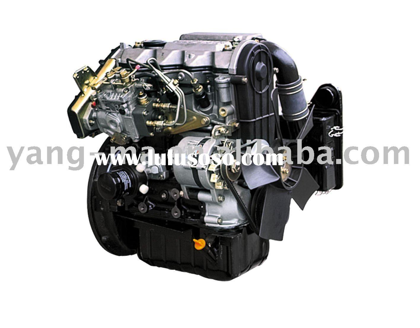15.8KW 2 cylinder water cooled 4 stroke portable marine diesel engine(With gear box)
