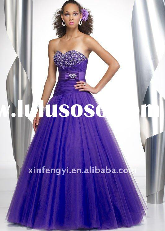 15% Off formal beaded taffeta strapless prom dress SP156