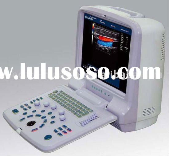 15 inch Color Doppler Portable Ultrasound Scanner with cardiac, linear Convex probes MC-DU01P