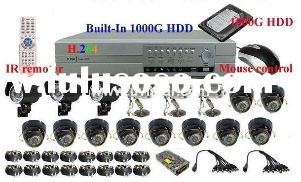 16 CH H.264 Home Video Surveillance System